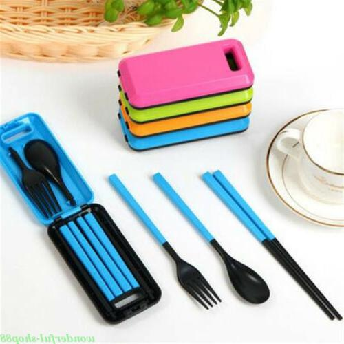 Folding Spoon Tableware Travel Camping Portable