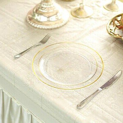 "10"" Party Wedding Dinnerware"