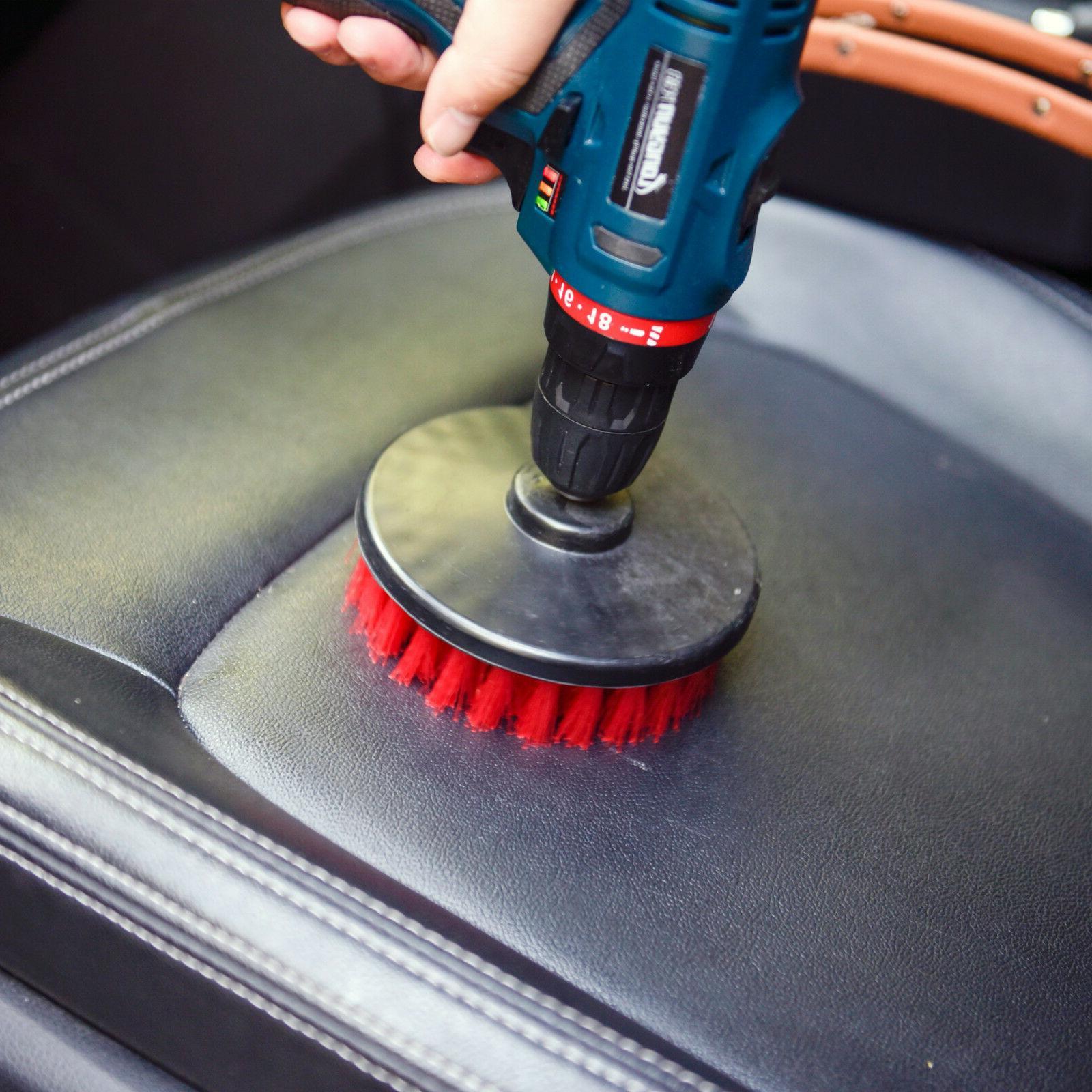Heavy Duty Scrub Brush with Power Drill