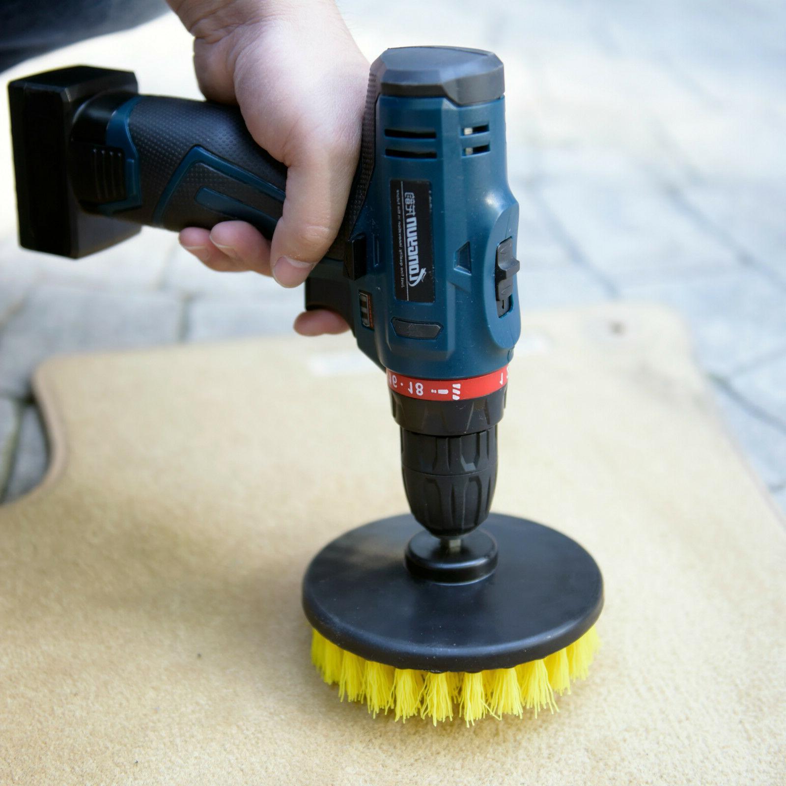 """Heavy Duty 5"""" Scrub with Power Drill"""