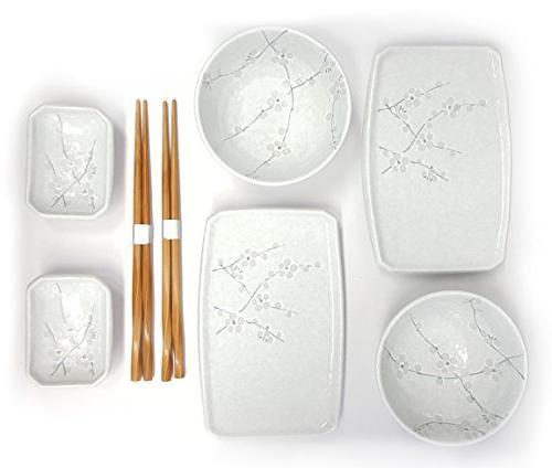 japanese cherry blossom dinnerware set