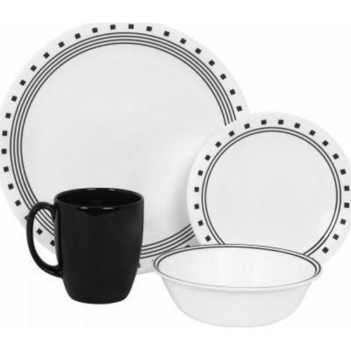 livingware city block dinnerware set