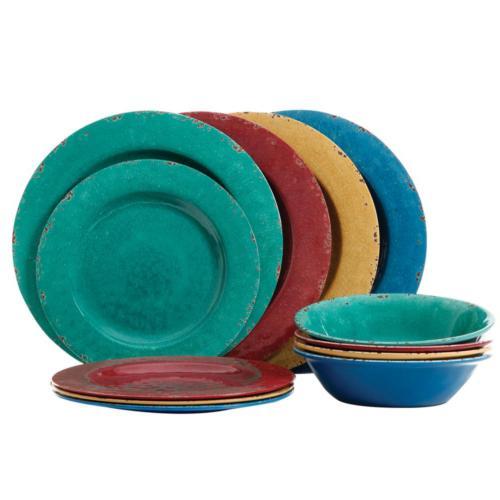 Mauna colors Dinnerware Set