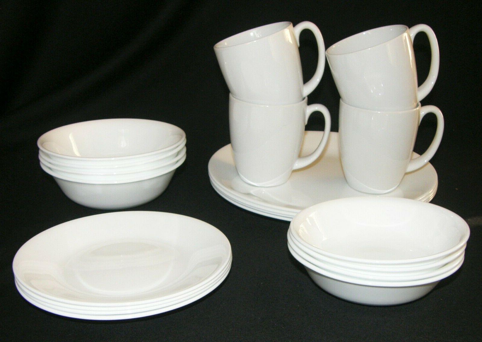 NEW 20 LivingWare Dinnerware Service 4