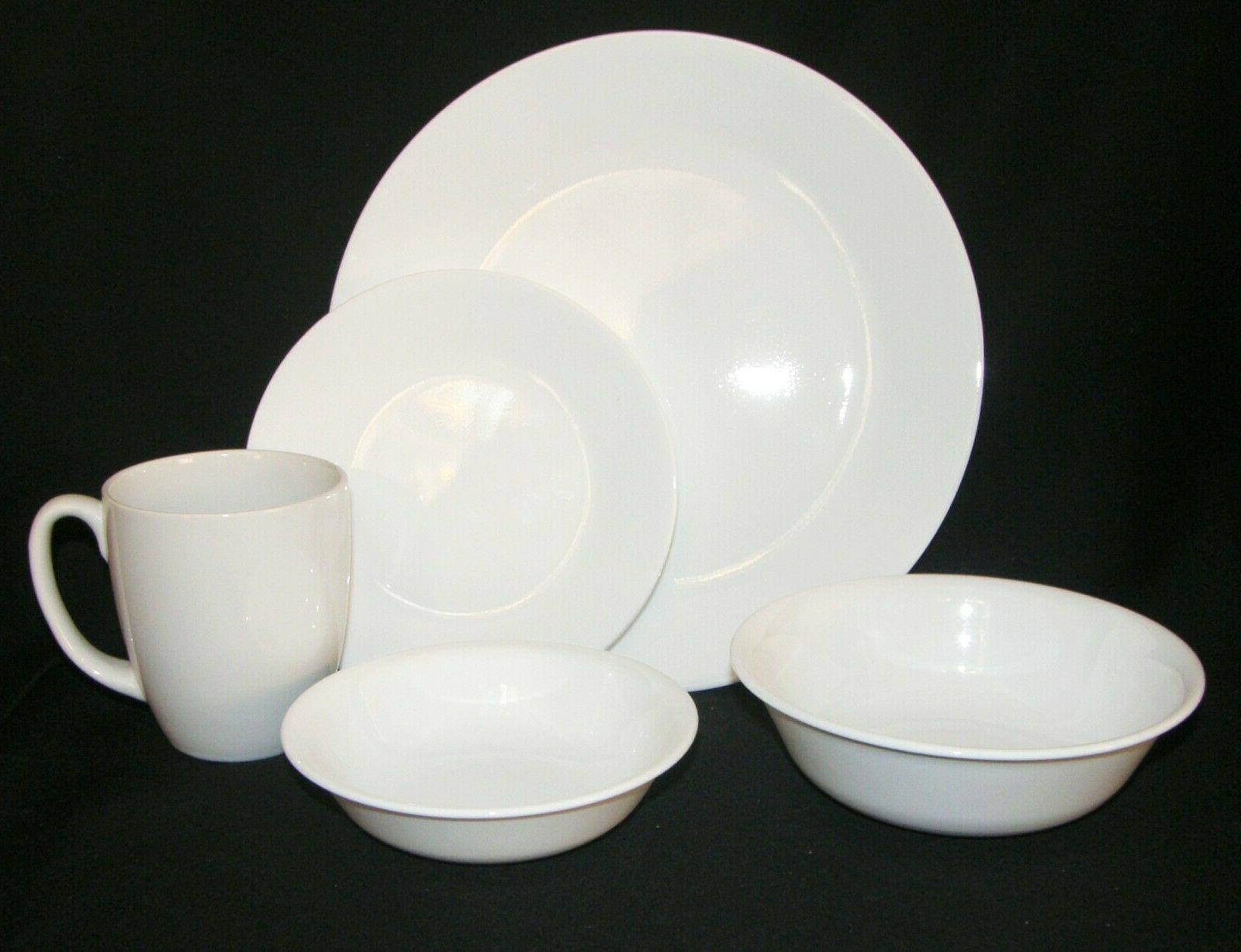 new 20 pc livingware winter frost white