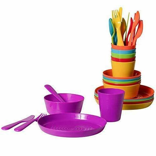 Plastic Piece Dinner Sets Dining