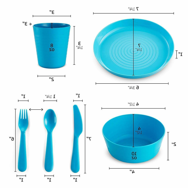 Plastic Piece Dinner Dining