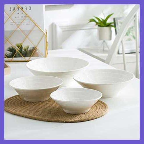 "Porcelain 4 Bowl 7"" FREE SHIPPING"