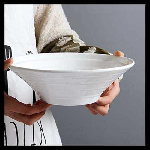 porcelain 4 pc serving bowl set white