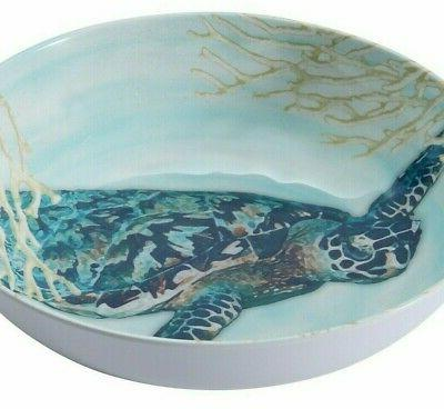 "Sea Turtle Bowl 8.5"" Better Beach New!"