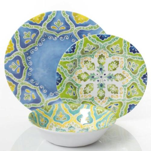 Gibson Seaberry Melamine Assorted Designs