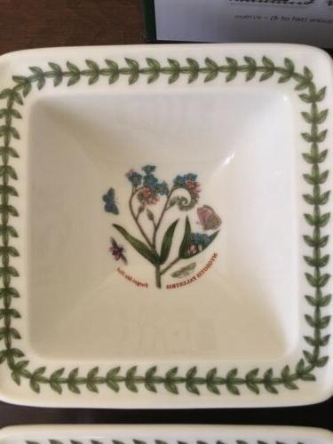 SET Portmeirion Botanic Bowls. New