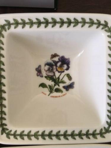 SET OF 4 Botanic Mini Bowls. New