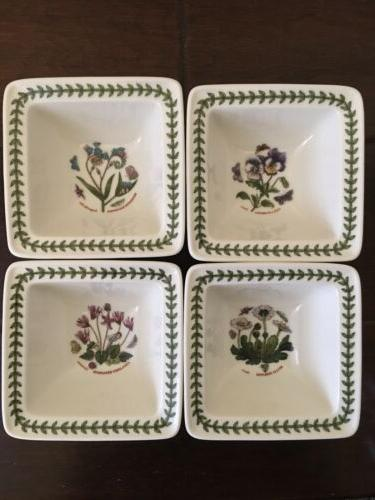 SET OF Botanic Bowls. In