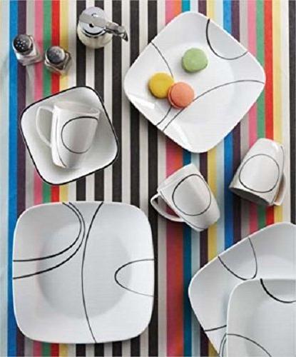 Corelle® Square Simple 16-pc. Dinnerware