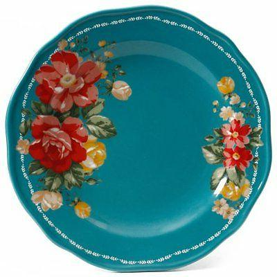 The Woman Vintage Floral 12-Piece Dinnerware W