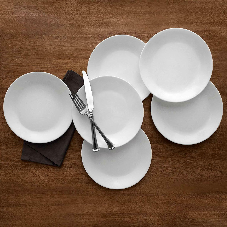 Corelle Glass Plates 8-1/2-Inch,