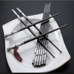 Living Stainless Steel Tableware Kitchen & Dining Chopsticks