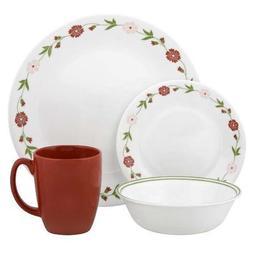 livingware spring pink dinnerware set
