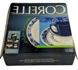 Corelle Livingware True Blue 16-Piece Dinnerware Set Service