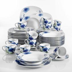 Modern Kitchen Dinnerware Dinner Set Plates Bowls Porcelain