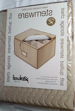 MSRP $35 !!! New Richards Homeware Microfiber Dinnerware Ste