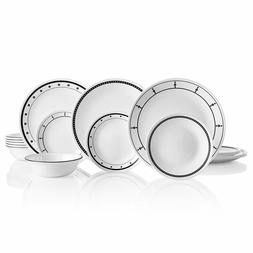 New Corelle  1134500  18 Piece Dinnerware Dining Set, Classi