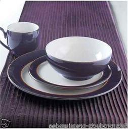 NEW DENBY AMETHYST DINNER SET 16 pc PIECE DURABLE MUGS PLATE