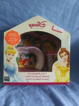 NEW Disney Princess 3 Piece Dinnerware Set Zak Designs FACTO
