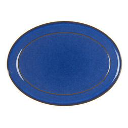 NEW Denby Imperial Blue Oval Platter