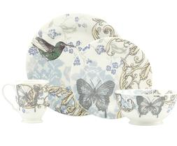 NEW IN BOX LENOX COLLAGE BUTTERFLY - Alice Drew 4 PIECE CHIN