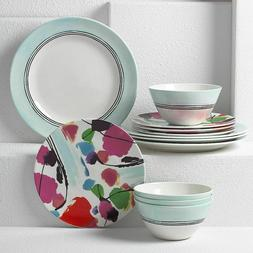 New Lenox Manarola 12-Piece Dinnerware Set Service for 4 NIB