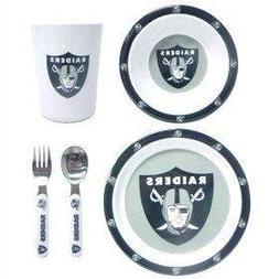 NFL Oakland Raiders Children's Dinner Set