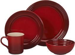 Le Creuset of America PGWSV16-0367 Dinnerware Set, 16 Piece,