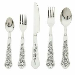 Disney Parks BEAUTY AND THE BEAST Be Our Guest Flatware Silv