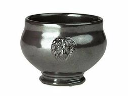 Juliska Pewter Stoneware Footed Soup Bowl - Set of 4