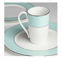 Lenox Pleated Colors Aqua 3-piece Dish Dinnerware Set
