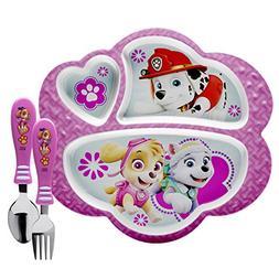 Zak Designs PWPE-2072-AMZ Nick Jr. Kids Dinnerware Sets Plat