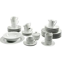 10 Strawberry Street 45-Pc. Round Dinnerware Set - - 10 Stra