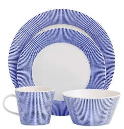 Royal Doulton Pacific Dots 4-pc. Place Setting,  Dinnerware