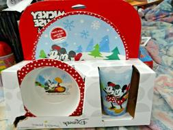 Disney's Mickey Mouse 3 Piece Dinnerware set for kids