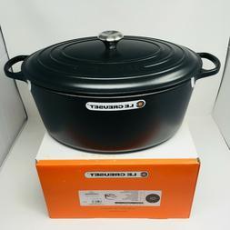 Le Creuset Signature Cast Iron 15 1/2-qt Oval Dutch Oven, Ma