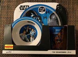 Disney Star Wars 3-Pc Dinnerware Set