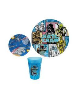 Disney, Star Wars Kid's Toddler 3 pc Dinnerware Gift Set w/