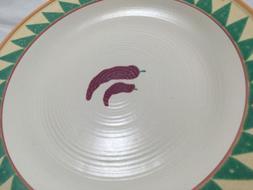"Treasure Craft Taos 13"" LARGE Platter Southwest Chili Pepper"