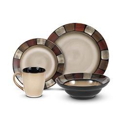 Taos 16 Pc. Stoneware Set