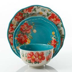 The Pioneer Woman Vintage Floral 12 Piece Dinnerware Set  2