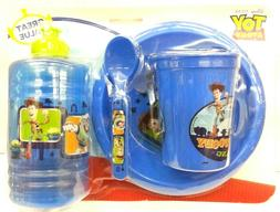 Toy Story Mealtime Dinnerware Set Includes Bowl,Cup,Jug,& Ch