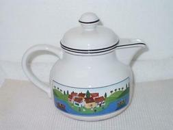 Villeroy & Boch Design Naif Teapot with Lid - NEW