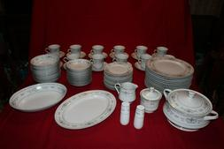 VINTAGE Fine China of Japan DIANE Porcelain Dinnerware SEE S